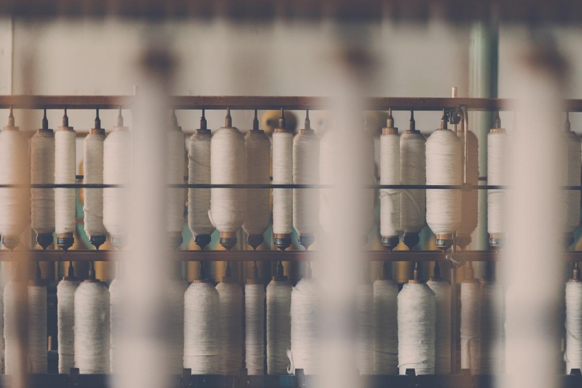Belanja Bahan di Cahaya Tekstil