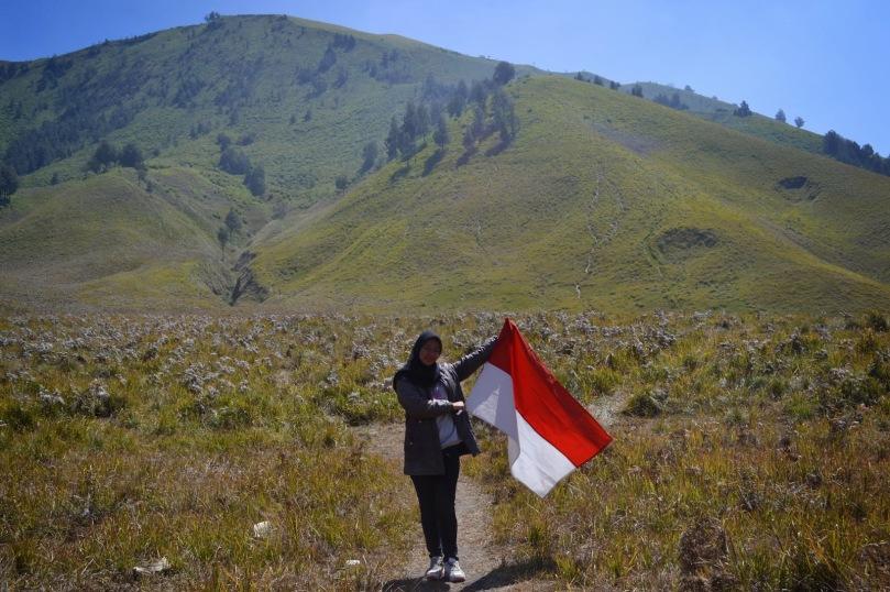 17-an di Gunung Bromo