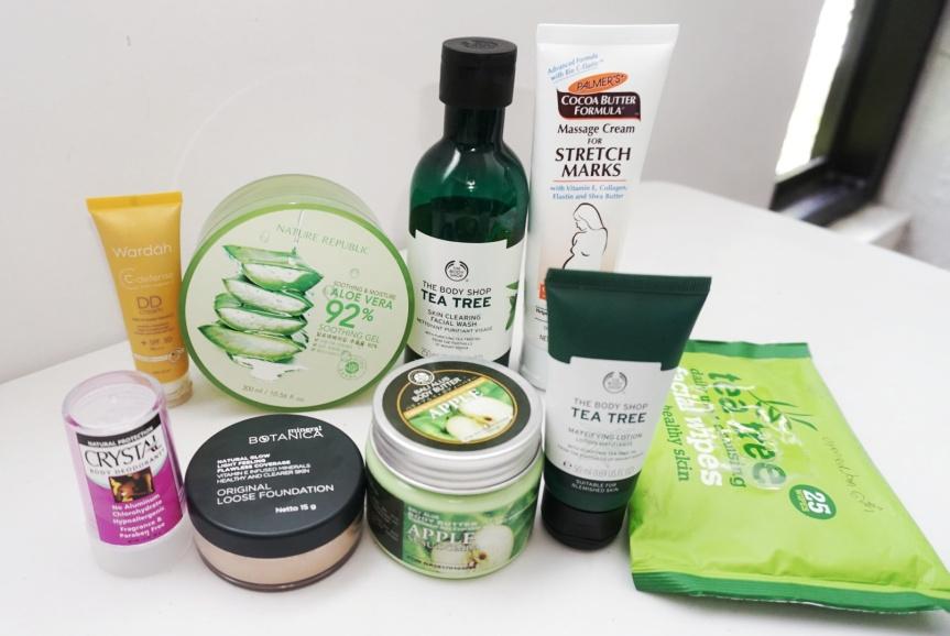 10 Produk Skincare dan Makeup Andalan selamaHamil